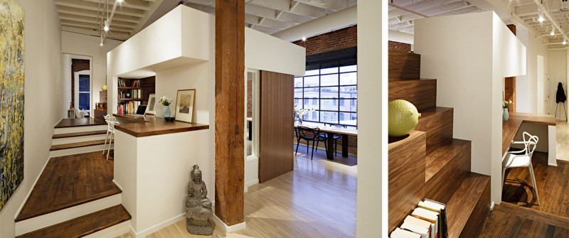 Loft Remodel Designed by Dangermond Keane Architecture and built by Rainer Pacific