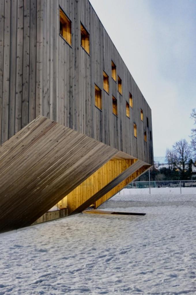 Fageborg Kindergarden Oslo, Norway 2010 (Reiulf Ramstad Arkitekter)