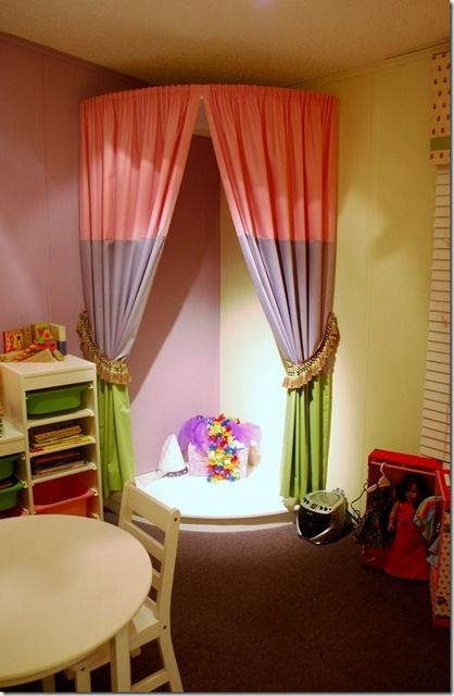 stage at kid's room