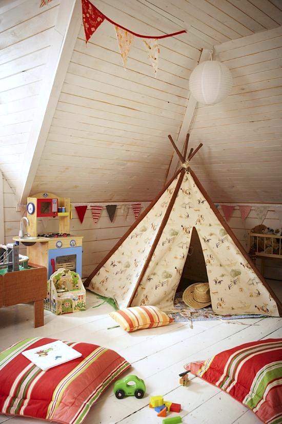 teepee-attic