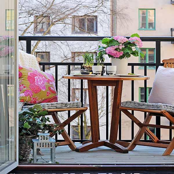cute balcony